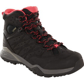 The North Face Hedgehog Hike II Mid GTX Sko Damer, tnf black/atomic pink